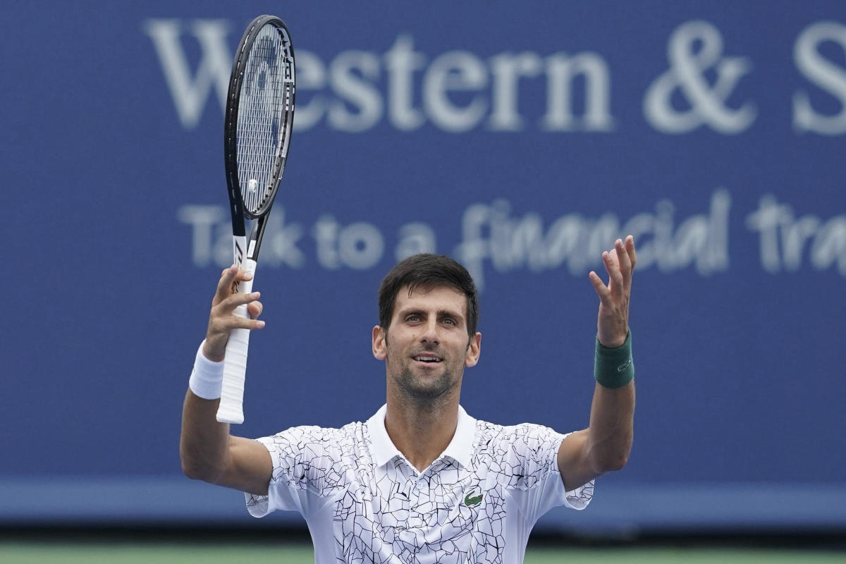 Novak Djokovic, of Serbia. (AP/PTI)