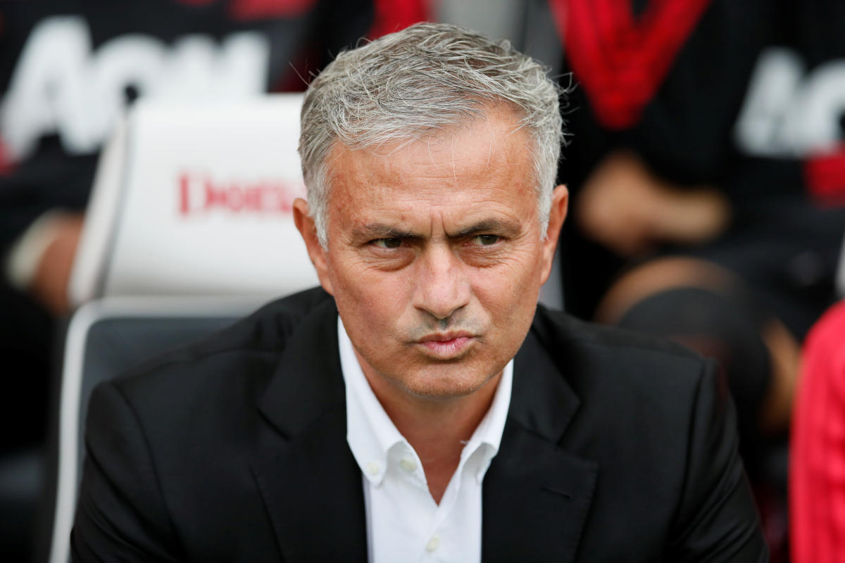 Manchester United's manager Jose Mourinho. Reuters