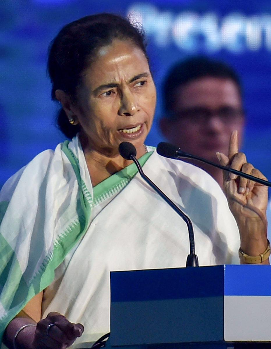 West Bengal Chief Minister Mamata Banerjee. PTI Photo