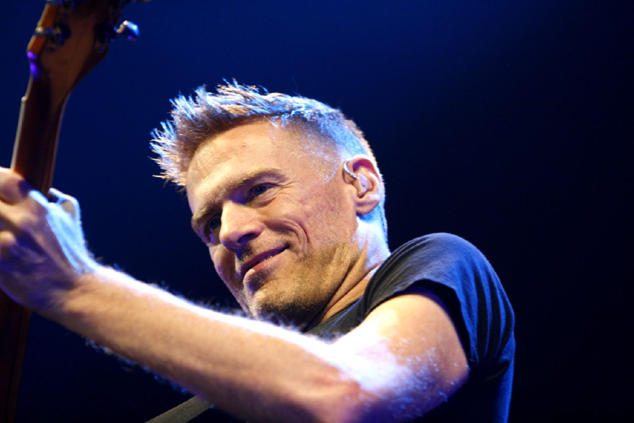 Bryan Adams will be in the city on October 13.