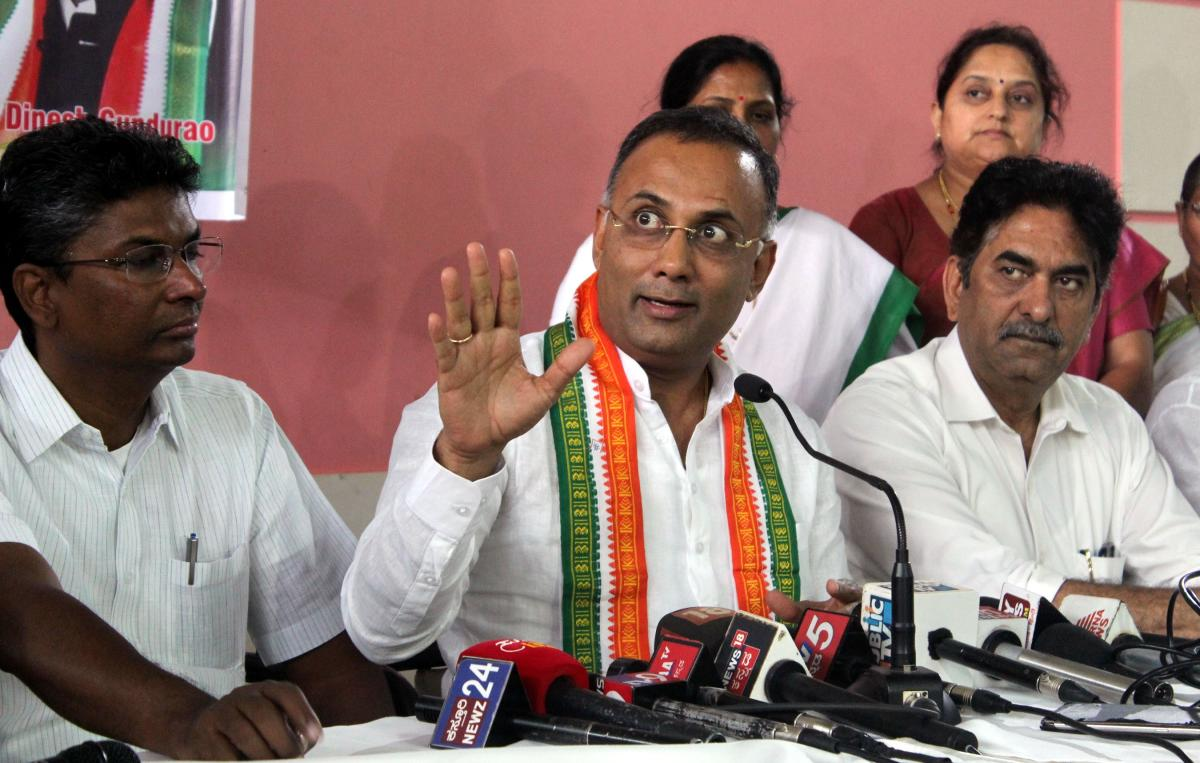 KPCC president Dinesh Gundu Rao. (DH Photo)