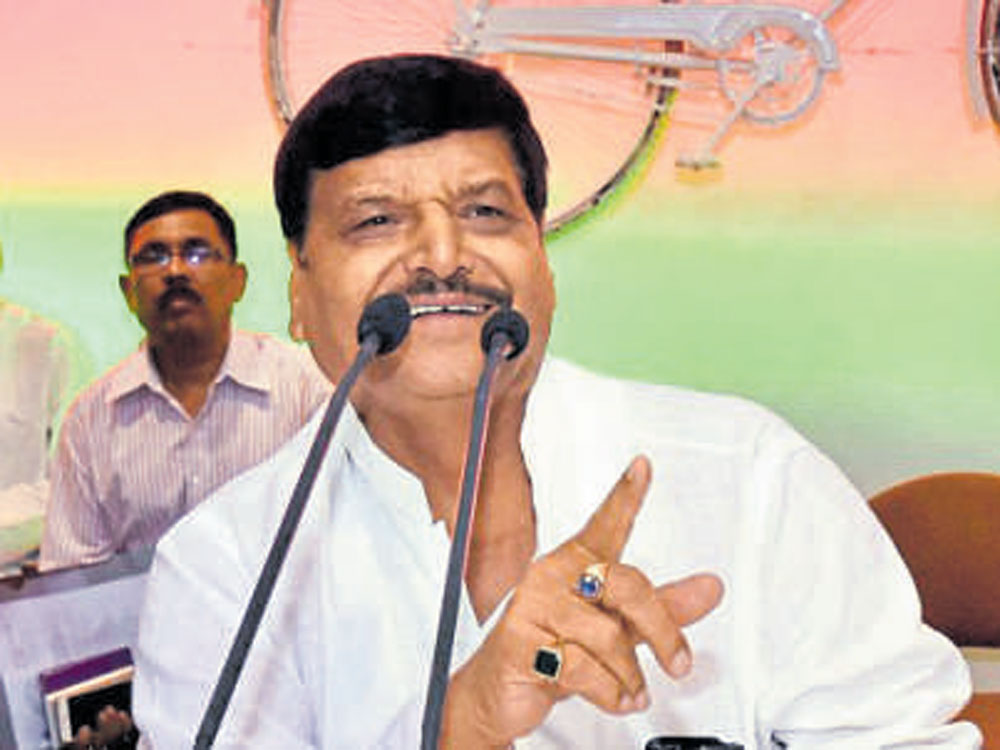 """Shivpal, who fell out with Akhilesh a few months before the 2017 Assembly polls in the state, has dropped hints that he may """"charter a different course"""" if his """"isolation"""" in the party continued. (File Photo)"""