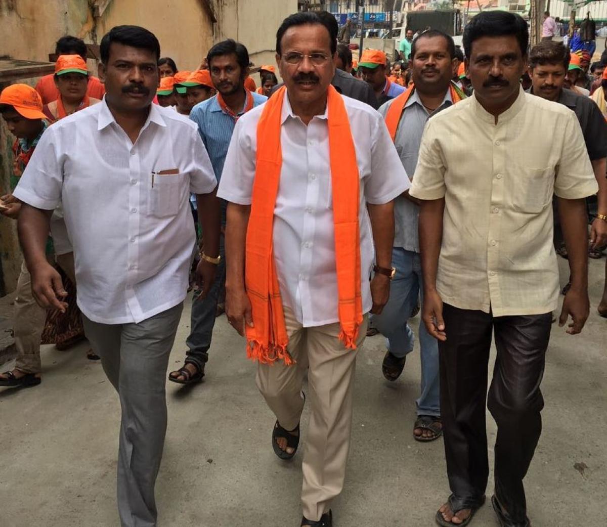 Union Minister for Statistics and Programme Implementation D V Sadananda Gowda.