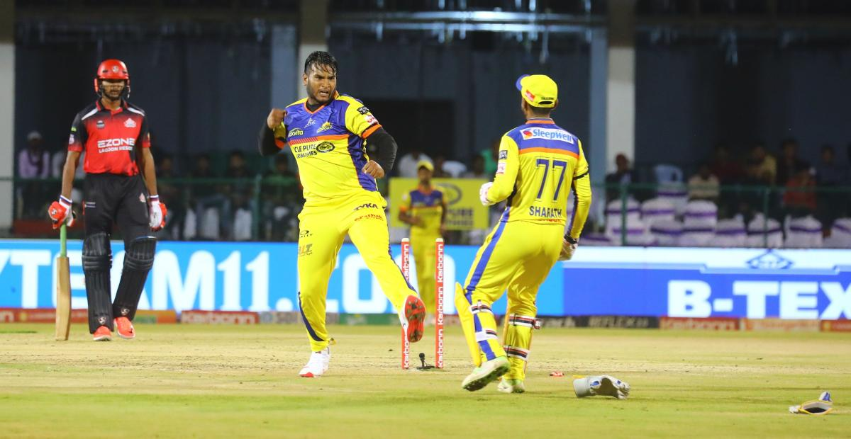 Mysuru Warriors paceman Vyshakh Vijaykumar has been among the wickets and will be crucial to his side's success.
