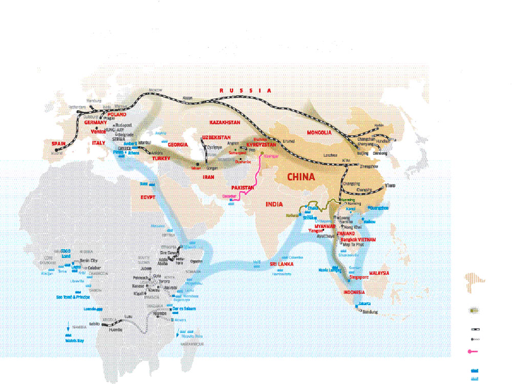 "First announced in 2013 by President Xi Jinping, the initiative also known as the ""new Silk Road"" envisions the construction of railways, roads and ports across the globe, with Beijing providing billions of dollars in loans to many countries."