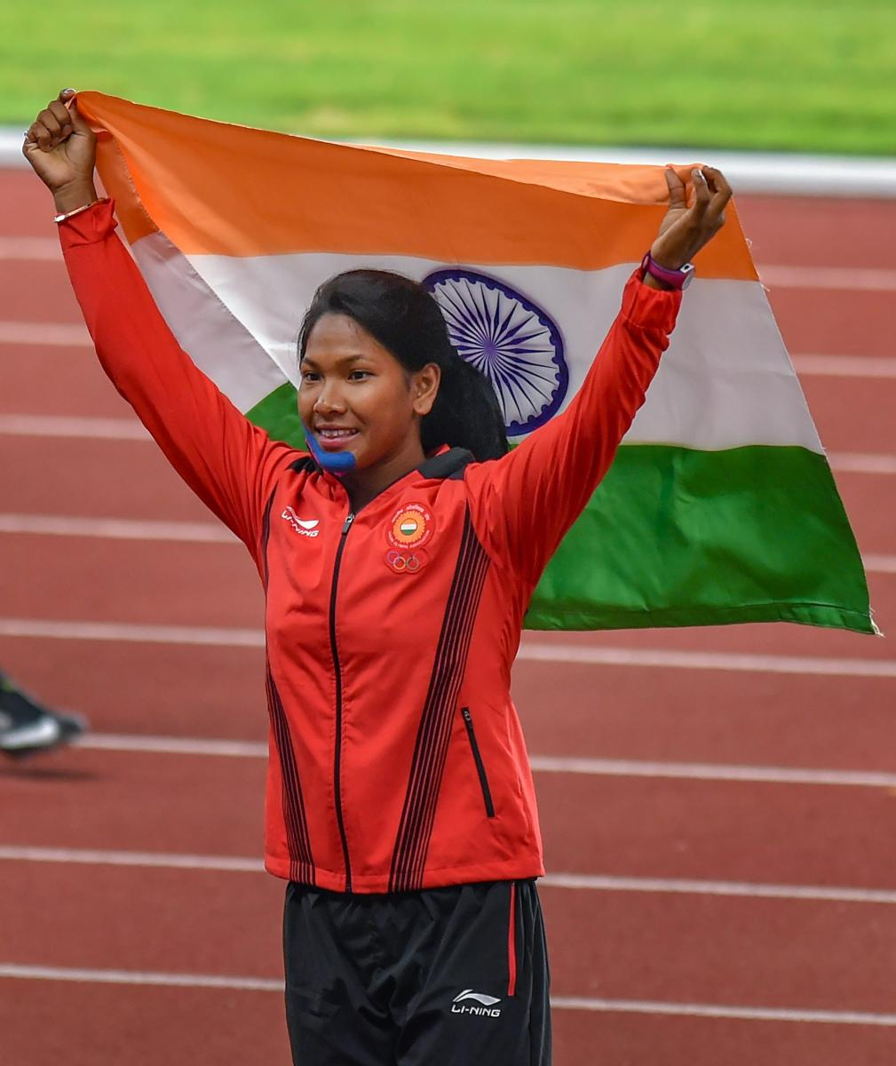 Sawpna Barman's heptathlon gold helped India swell their medals tally at the Asian Games. PTI