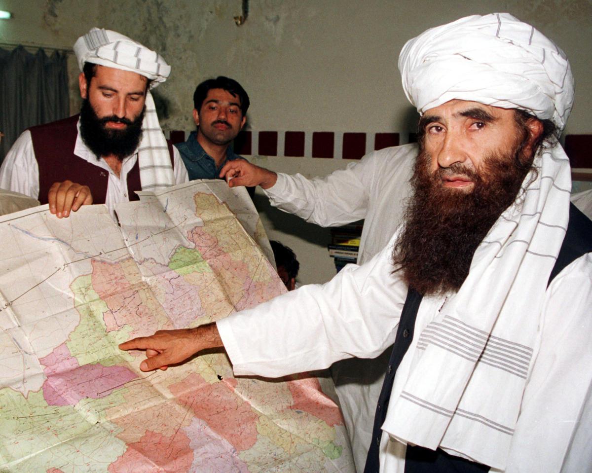 Jalaluddin Haqqani (R) (REUTERS/Stringer/File Picture)