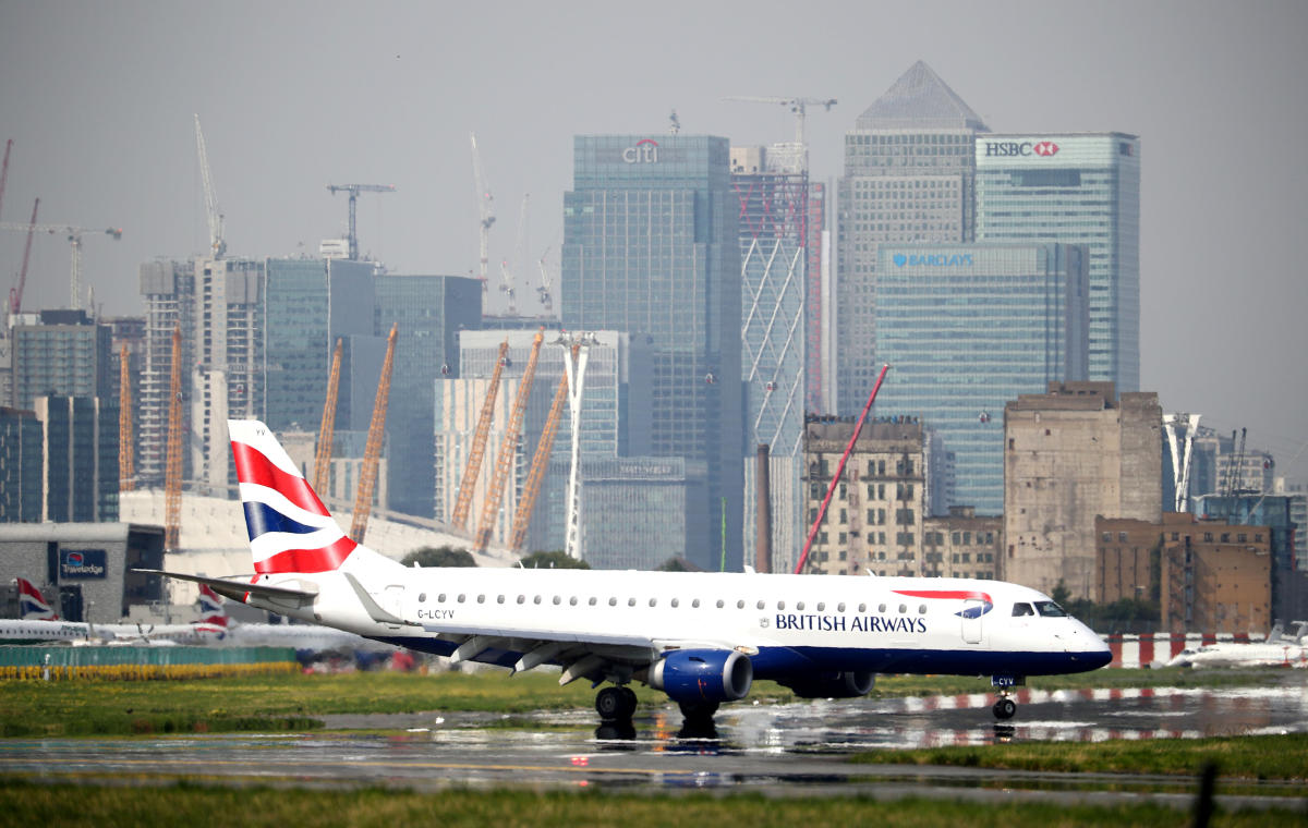 A British Airways airplane. (Reuters file photo)