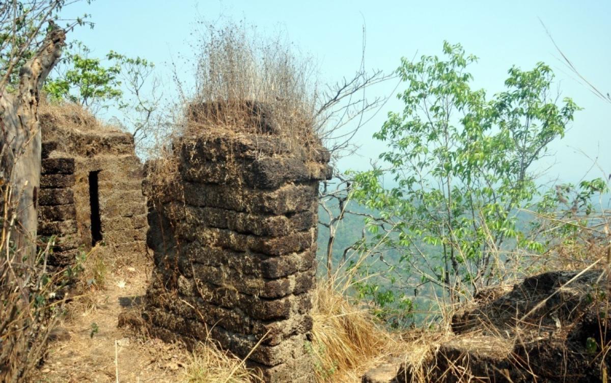 in ruins Barekal Batheri.
