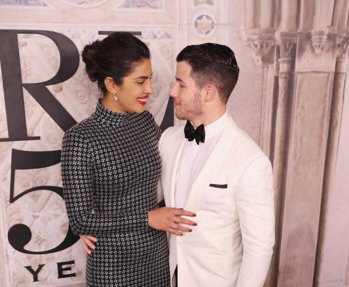 Bollywood star Priyanka Chopra and Nick Jonas. AFP file photo