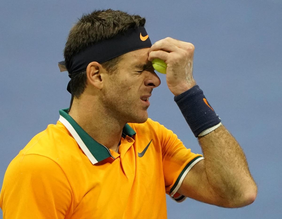 Juan Martin del Potro of Argentina felt he squandered opportunities in the US Open men's final against Serbia's Novak Djokovic. AFP