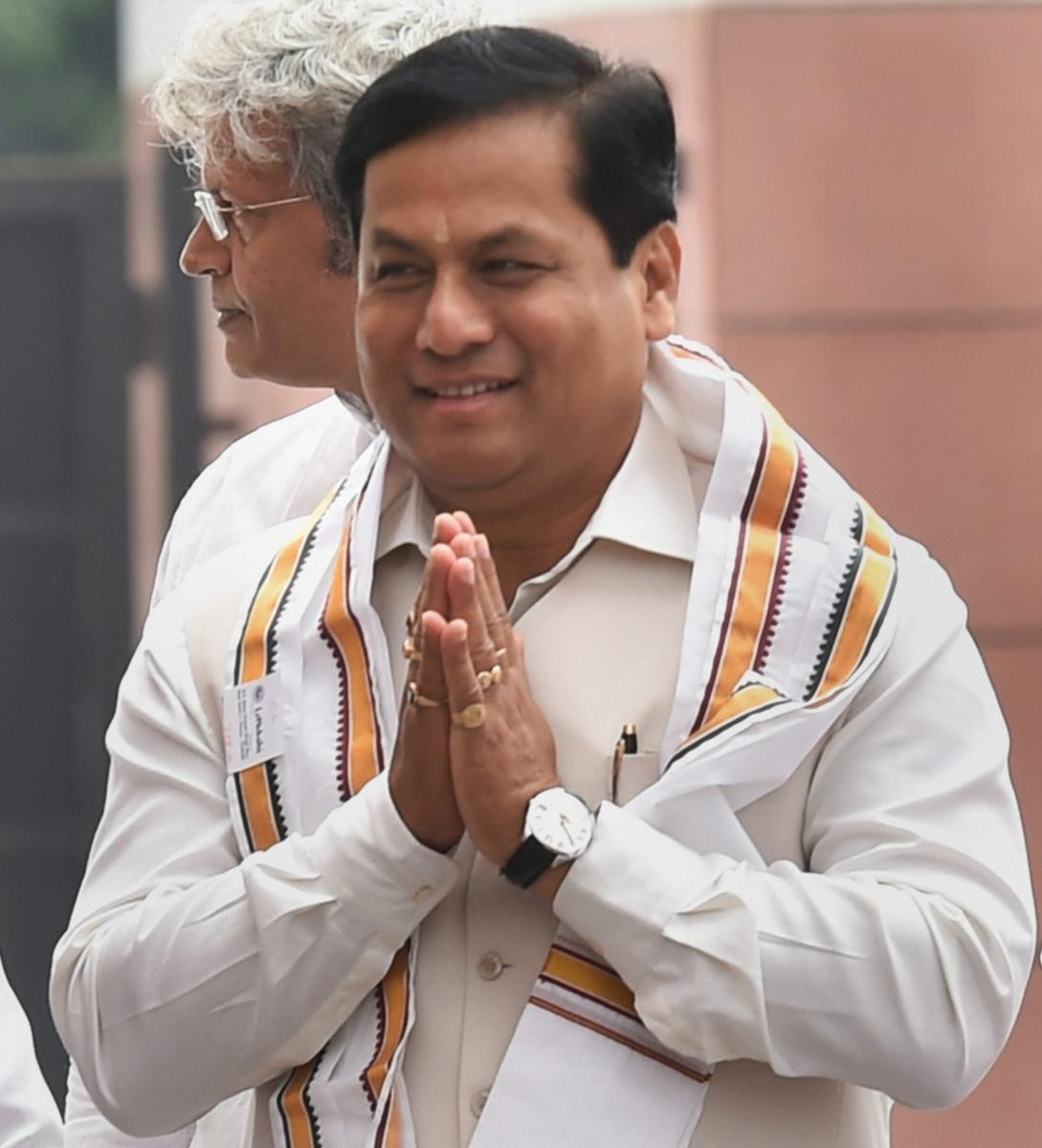 """Assam Chief Minister Sarbananda Sonowal said, """"The NRC should be implemented in all states. This is a document which can protect all Indians. Those who will be excluded from the NRC in Assam can go to other states. So we will have to take a strong step."""""""