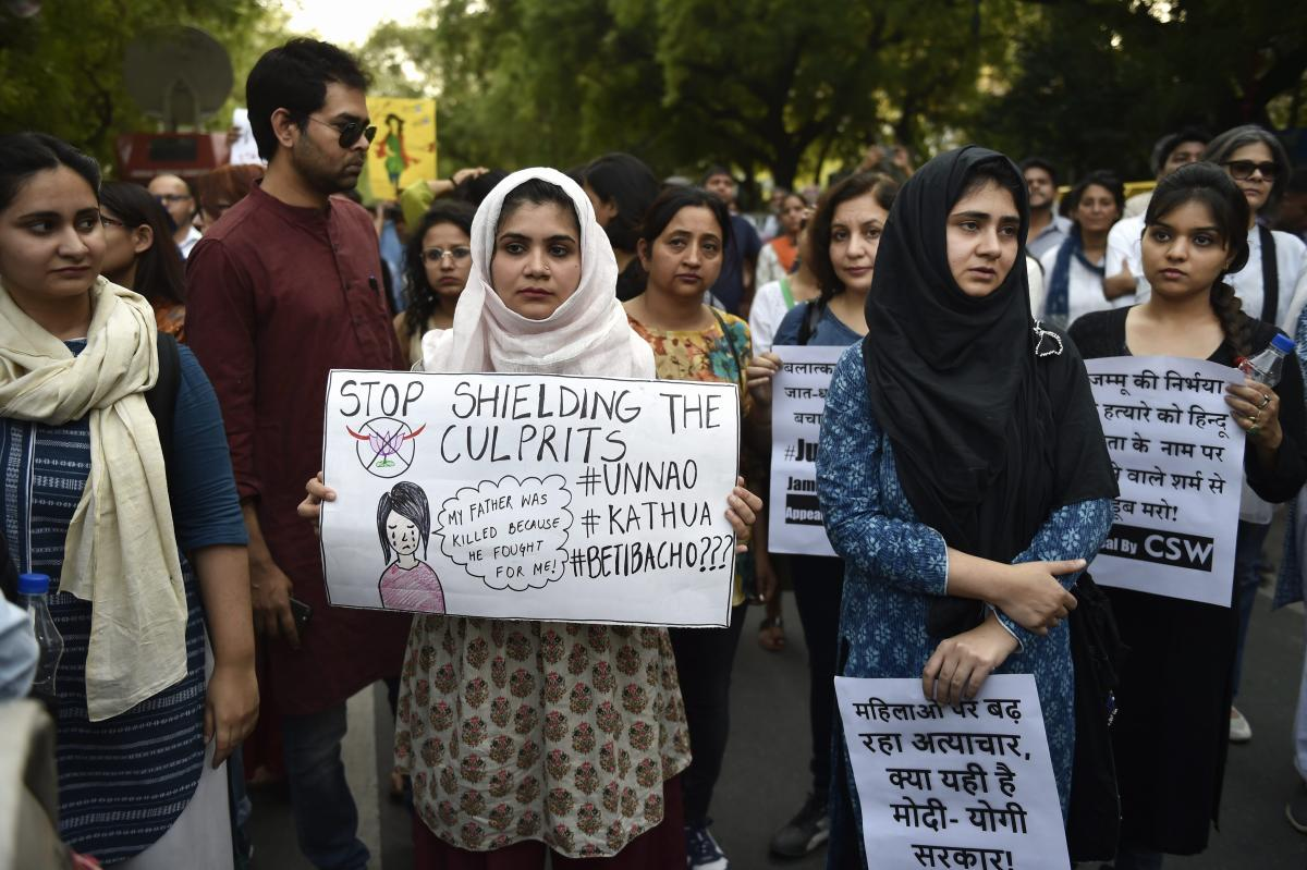 Not In My Name, say people after Kathua, Unnao incidents