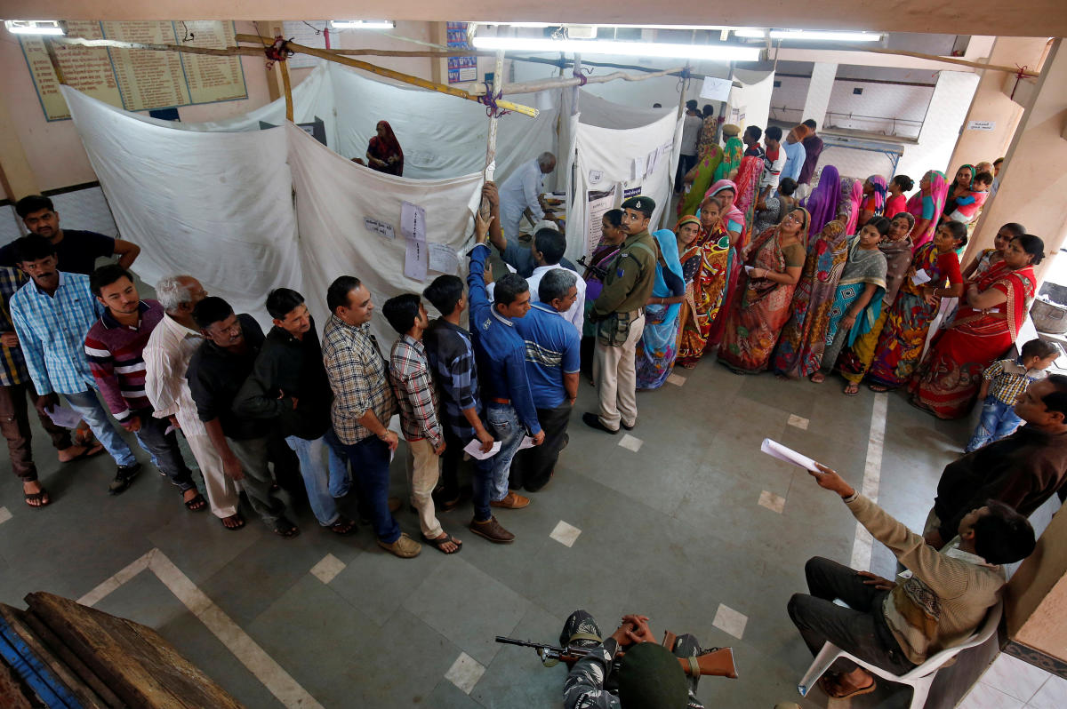 In the Scheduled Tribes reserved seats, the average NOTA share is 2.55% of total votes while it is 1.43% in Scheduled Caste reserved seats and in unreserved seats, it is 1.20%. (Reuters file Photo)