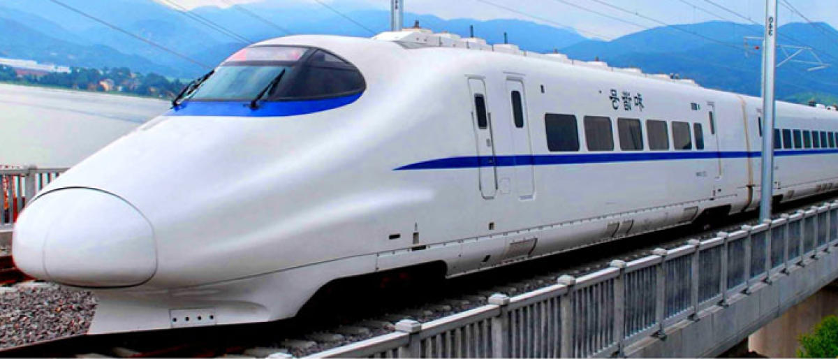 With joint efforts of India and China, a high-speed rail link could be established between the two cities, Zhanwu said at a conference in Kolkata. (Image for representation)