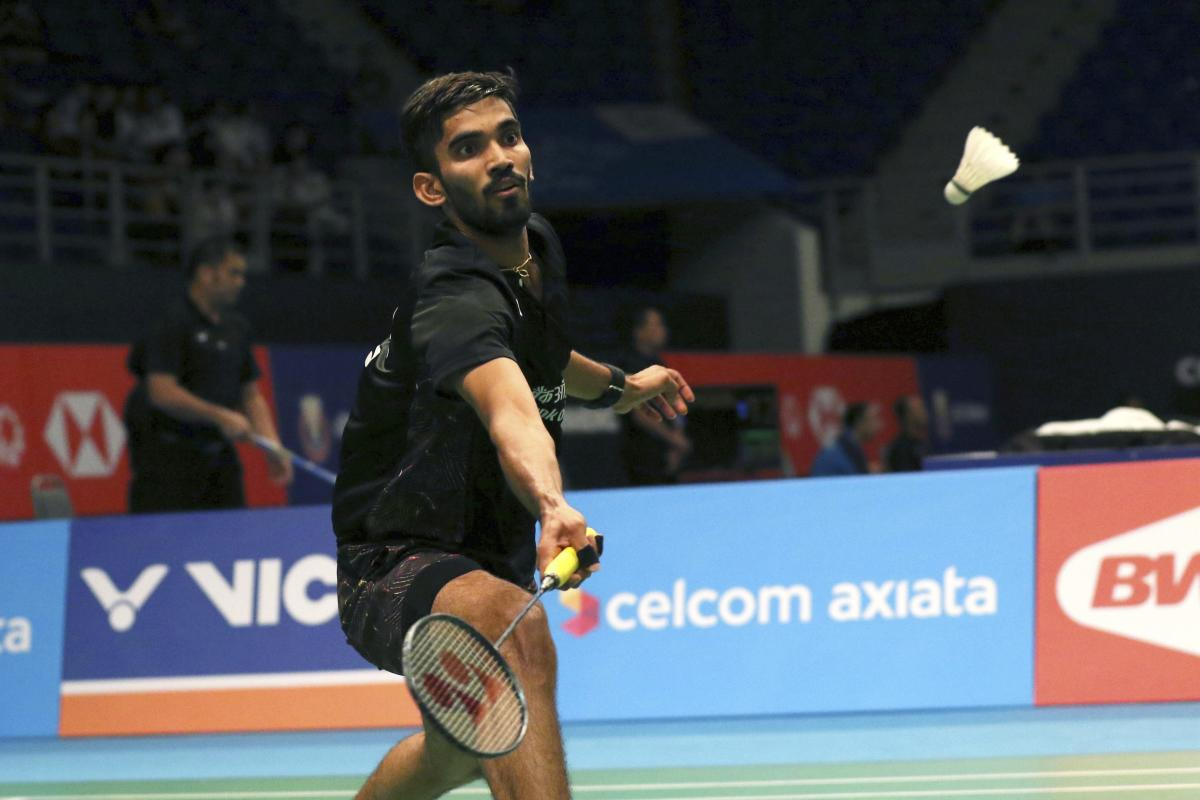 Kidambi Srikanth crashed out of the men's singles event after losing a marathon three-game quarterfinal to draw curtains on India's campaign at Japan Open. AP/PTI File Photo