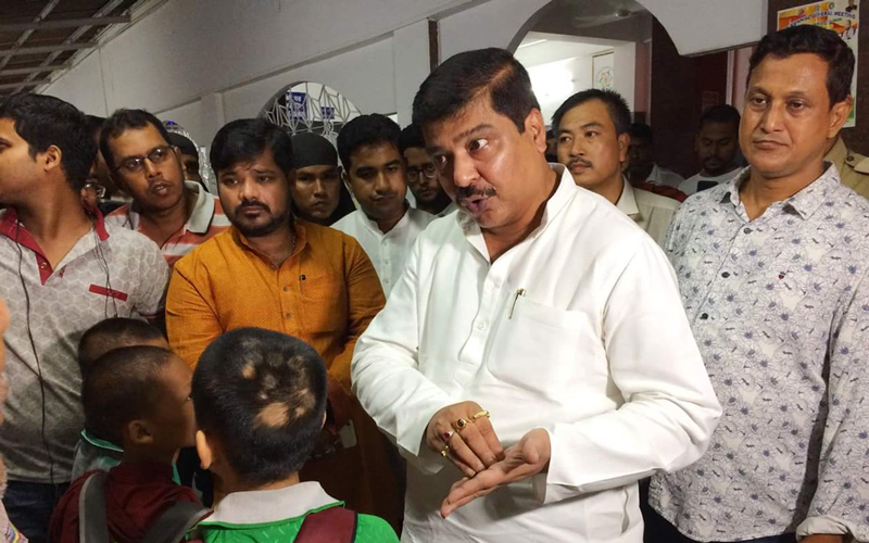 The children, belonging to the Mog and the Chakma community at Pencharthal in the North Tripura district, were sent by their families for studies in Bodh Gaya, but the school was shut down two months ago without informing their parents, state Health and Family Welfare Minister Sudip Roy Barman said. Image courtesy Twitter