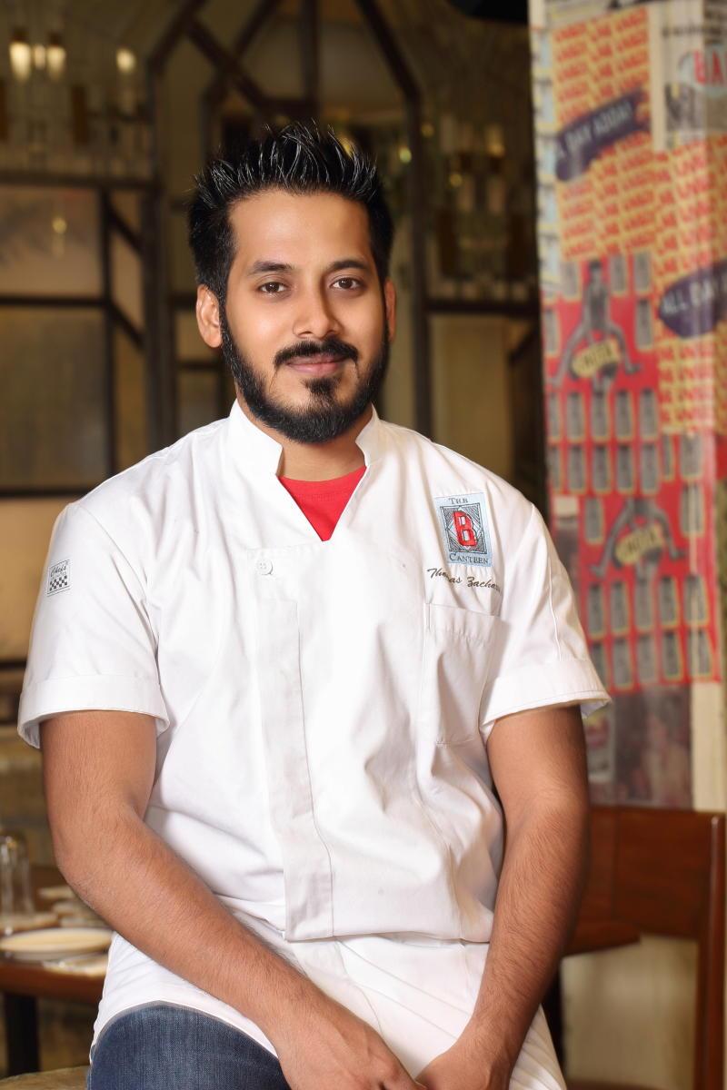 Thomas Zacharias, Chef Partner The Bombay Canteen