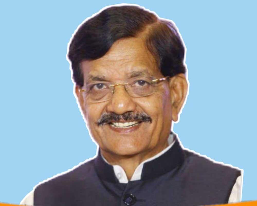 Legislator Madan Mohan Jha. (Image courtesy Twitter/Congress)