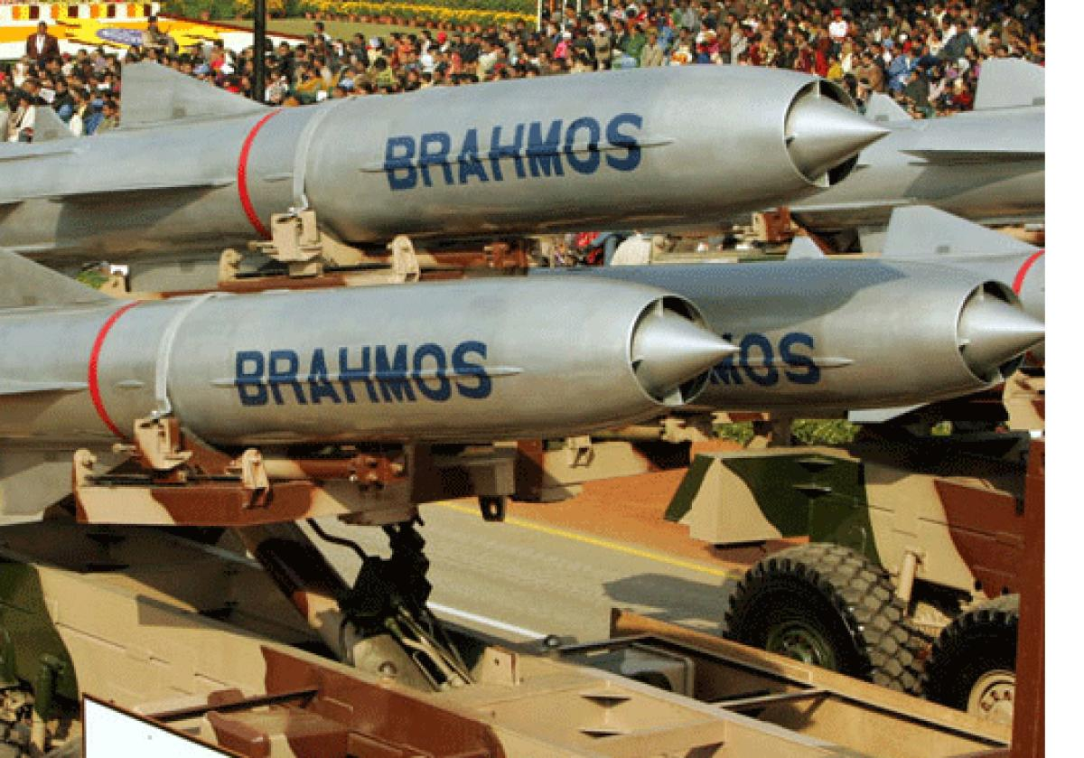 Brahmos, the fastest cruise missile in the world co-developed by India and Russia, will be breaching the mach 7 barrier to become a 'hypersonic' system in the next decade, a top official said. PTI file photo