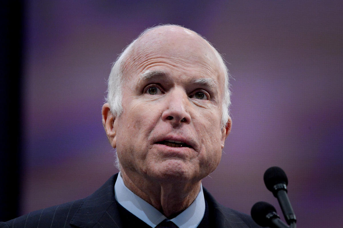 US Senator John McCain. Reuters file photo