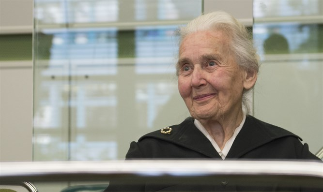 "Germany's jailed ""Nazi grandma"" Ursula Haverbeck, 89, today lost a challenge before the country's highest court, which reaffirmed that constitutional free speech guarantees do not cover Holocaust denial. Reuters photo"