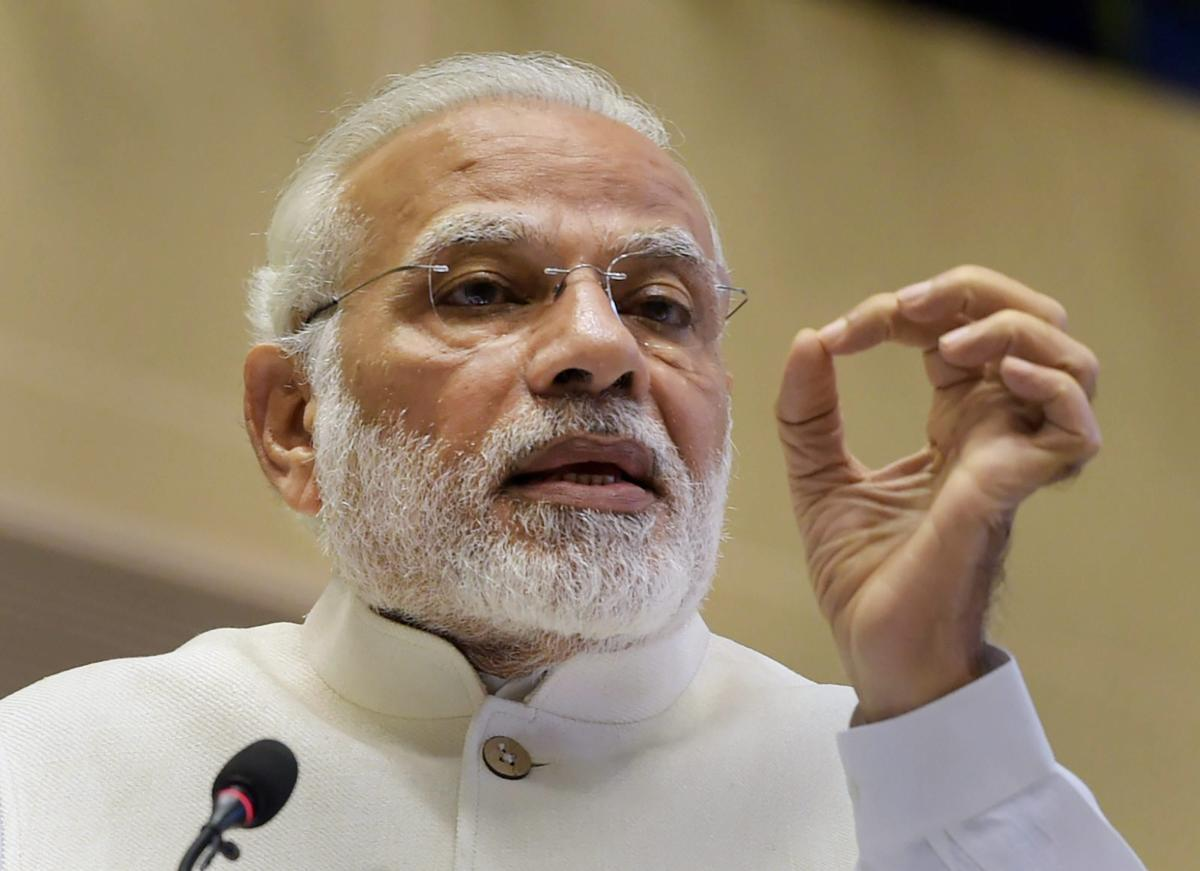 Prime Minister Narendra Modi will interact with Karnataka BJP leaders, including the party's candidates for the May 12 Karnataka Assembly polls. PTI File Photo