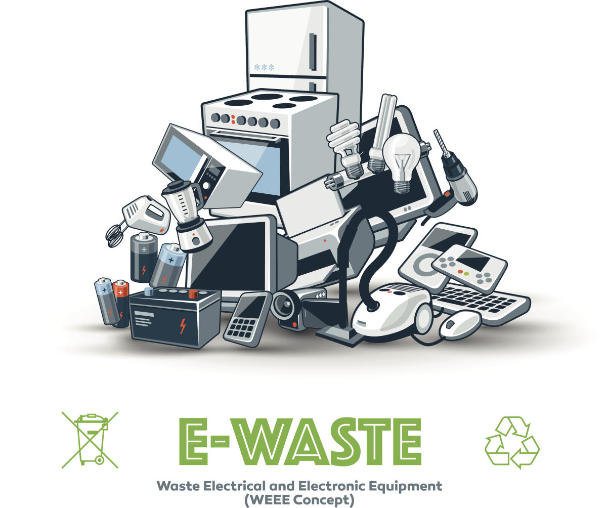 India Among Top Five E Waste Generating Nations Study Deccan Herald Hamilton Printed Circuit Board Design Pcb Has Been