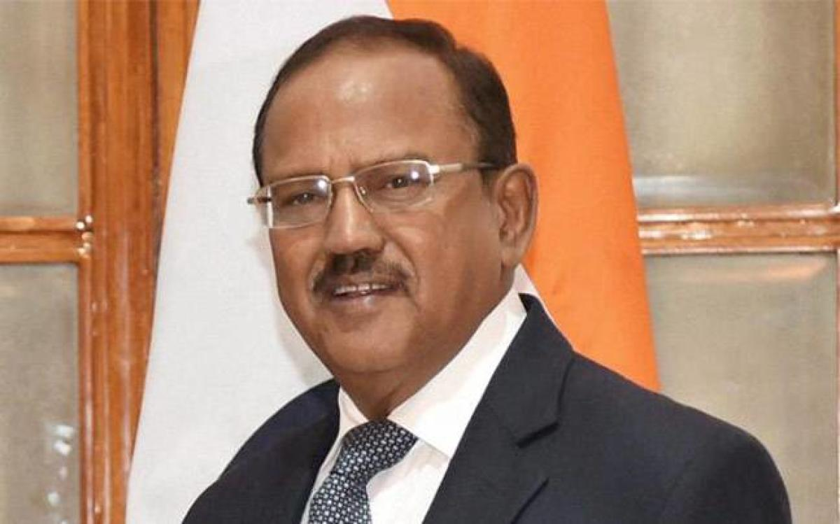 Doval is scheduled to meet Secretary of State Mike Pompeo at the Foggy Bottom headquarters of the State Department on Friday. (File Photo)