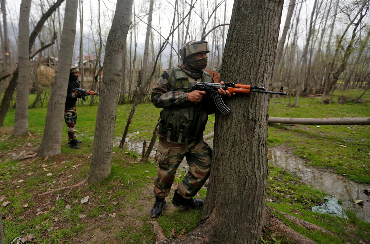 Sixty-nine terrorists have infiltrated into Jammu and Kashmir from across the border till June this year, Lok Sabha was informed on Tuesday. Reuters file photo