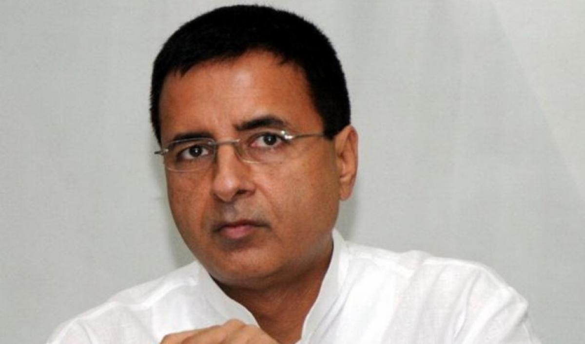 Congress's communications in-charge Randeep Surjewala. DH file photo