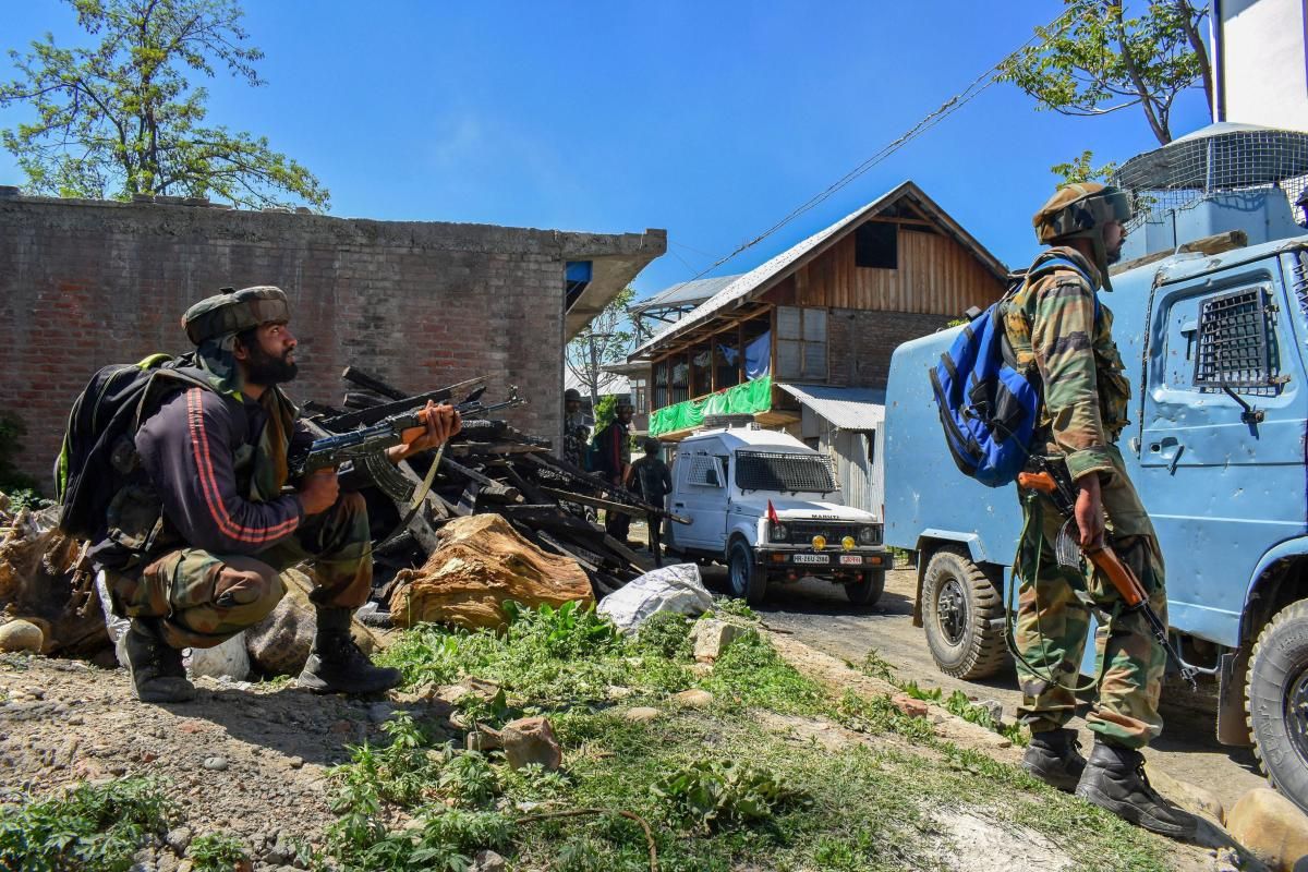 Police said the militants attacked the camp of 50 Rashtriya Rifles at Kakapora in Pulwama district leaving a jawan seriously injured. (PTI file photo)