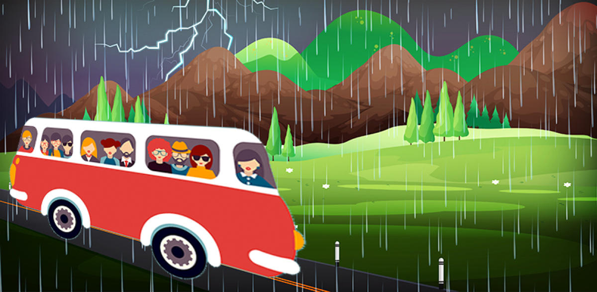 With the number and variety of travel and comfort options available today, monsoon tourism is taking off in a big way.