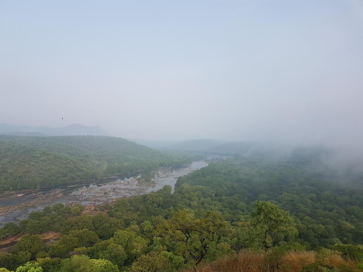 River Cauvery in Bheemeshwari