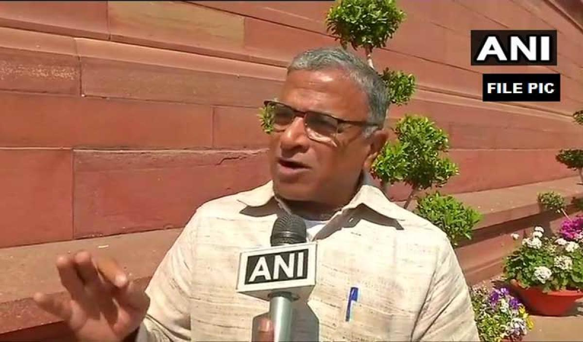 JD(U) MP Harivansh is likely to be the NDA candidate for the post of Deputy Chairman of Rajya Sabha, sources said on Monday. ANI file photo