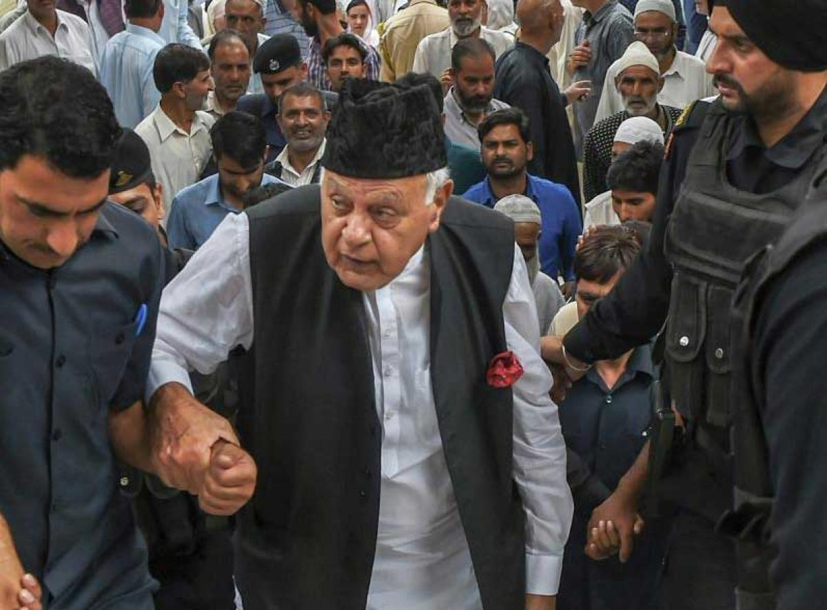 Farooq Abdullah. PTI Photo