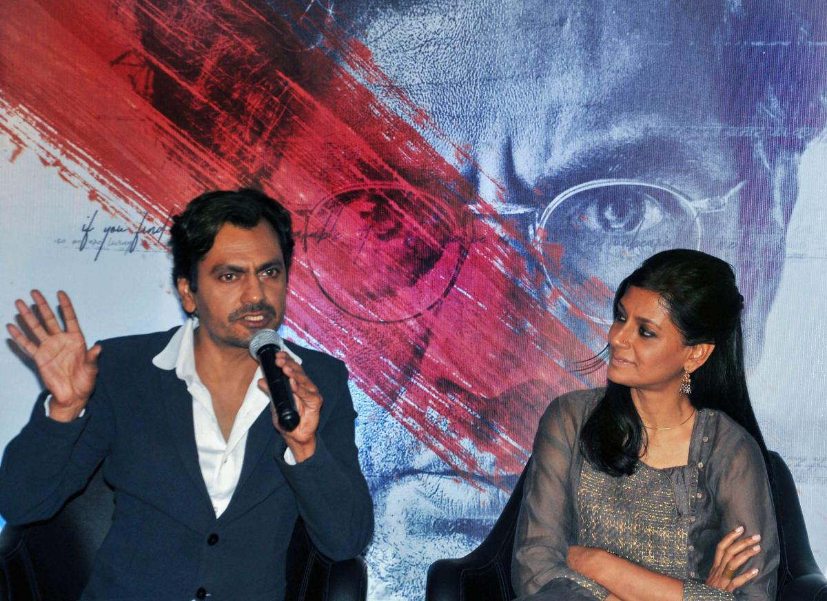 """""""Manto"""", starring Nawazuddin Siddiqui as legendary Urdu writer Saadat Hasan Manto released on Friday, but multiplex chain PVR Cinemas had to cancel the morning shows due to """"technical glitch"""". PTI Photo"""