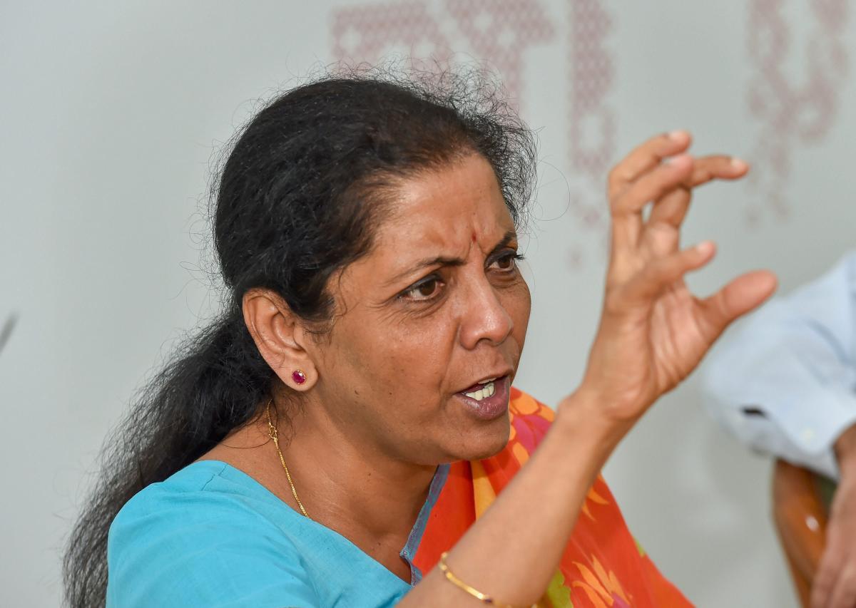 Defence Minister Nirmala Sitharaman. (PTI Photo)