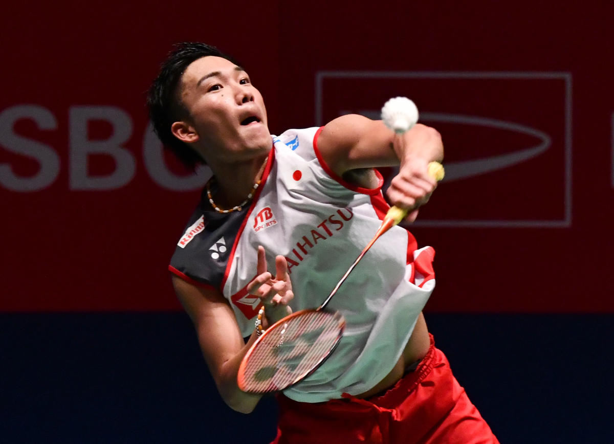 Japan's Kento Momota packed off India's Kidambi Srikanth in the quarterfinals of the China Open. File photo
