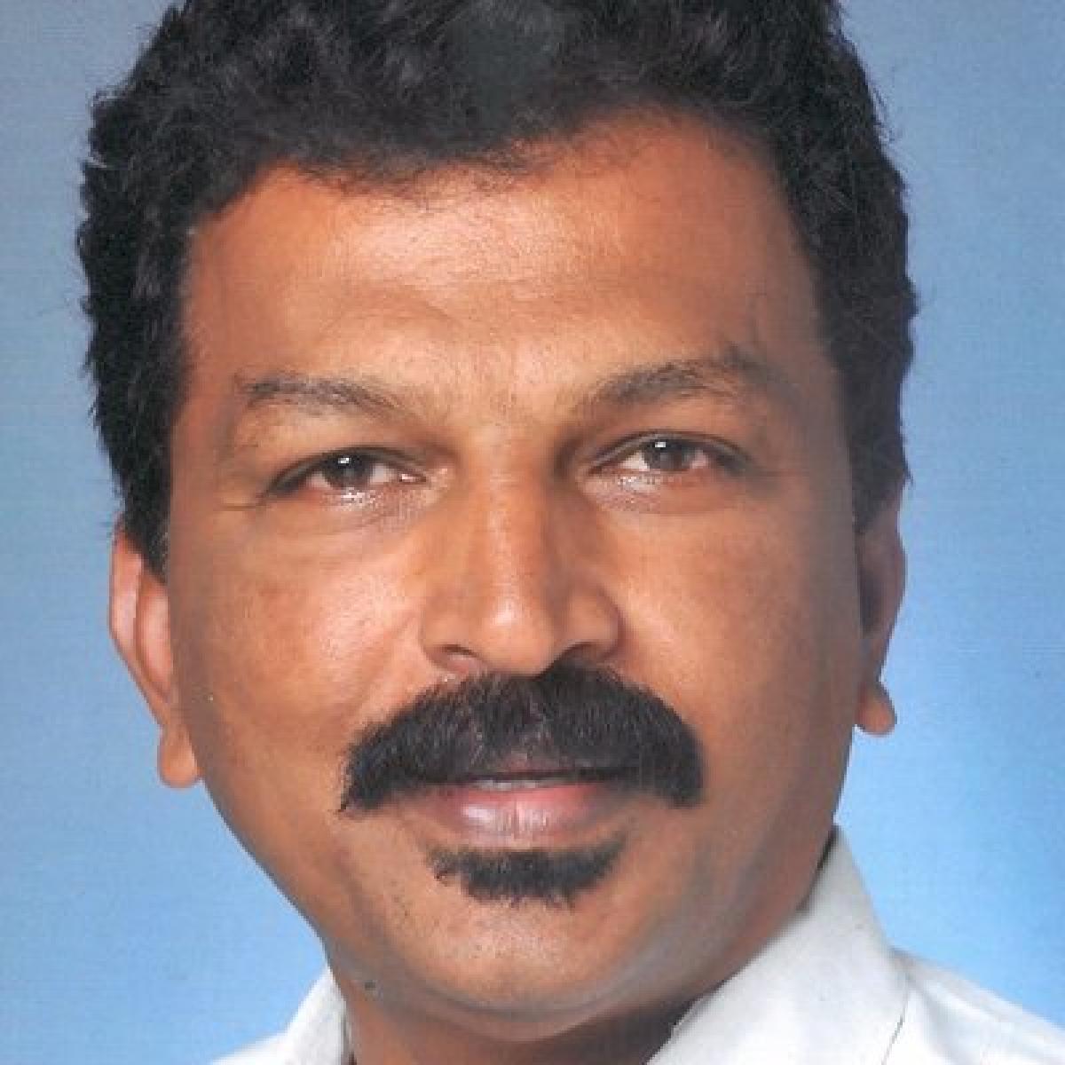 KPCC General Secretary P V Mohan. DH file photo.