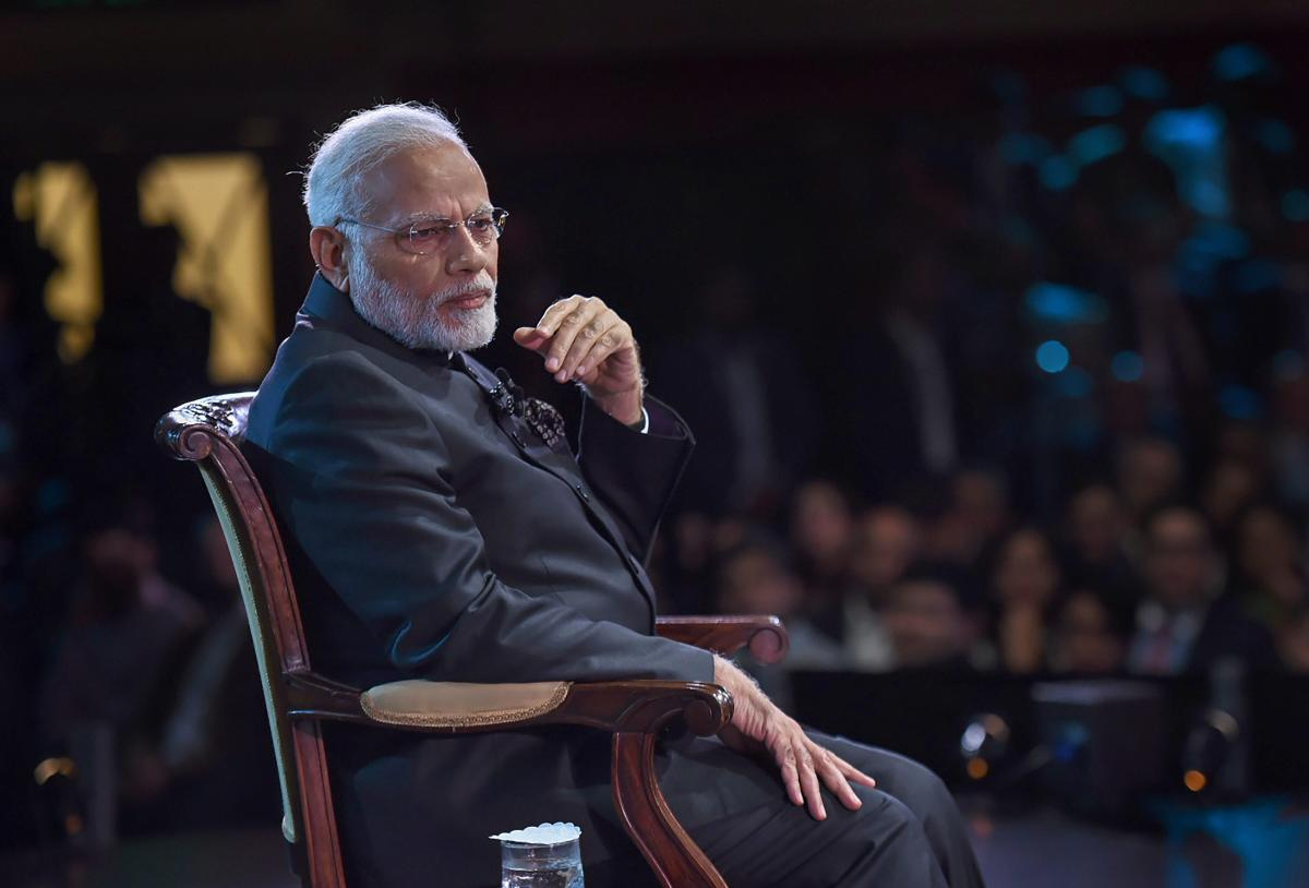 While speaking at the 'Bharat Ki Baat, Sabke Saath' programme at the iconic Central Hall Westminster in London, Modi had said India will not tolerate those who export terror. PTI file photo.