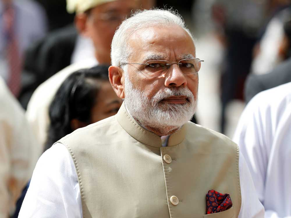 PM Modi had promised to bring back black money stashed abroad and deposit Rs 15 lakh in every citizen's account.PTI File Photo
