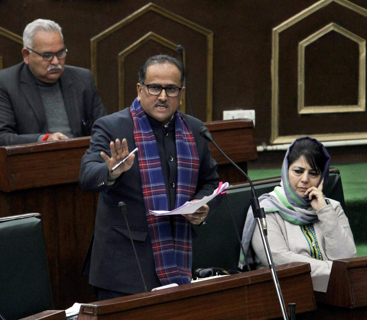 Jammu and Kashmir Deputy Chief Minister Nirmal Singh. PTI file photo