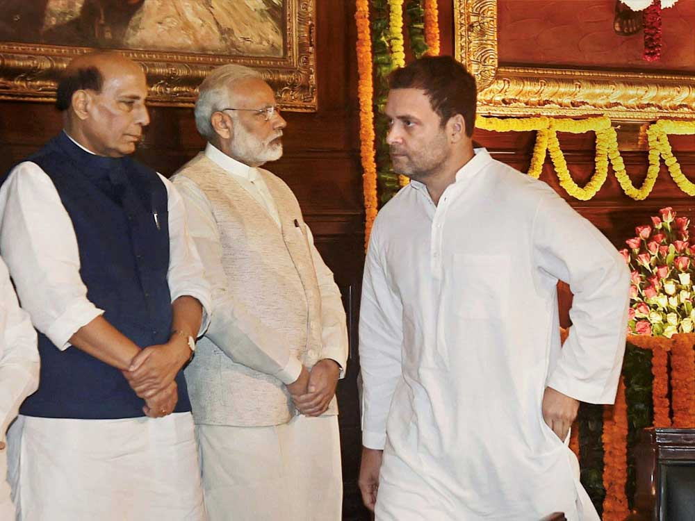 Buoyed by the successful launch of its 'Save the Constitution' campaign earlier this week, the Congress now plans to organise similar events to tap in the anger of the Dalit community against the Modi government that found expression in the protests on April 2. (PTI file photo)