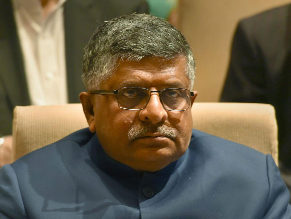 "Opposition parties were free to ""daydream"" of taking on Prime Minister Narendra Modi in the elections and feel happy about it following the formation of a government in Karnataka, but the fact was that it was against the popular mandate, Union Law Minister Ravi Shankar Prasad told reporters. PTI file photo"