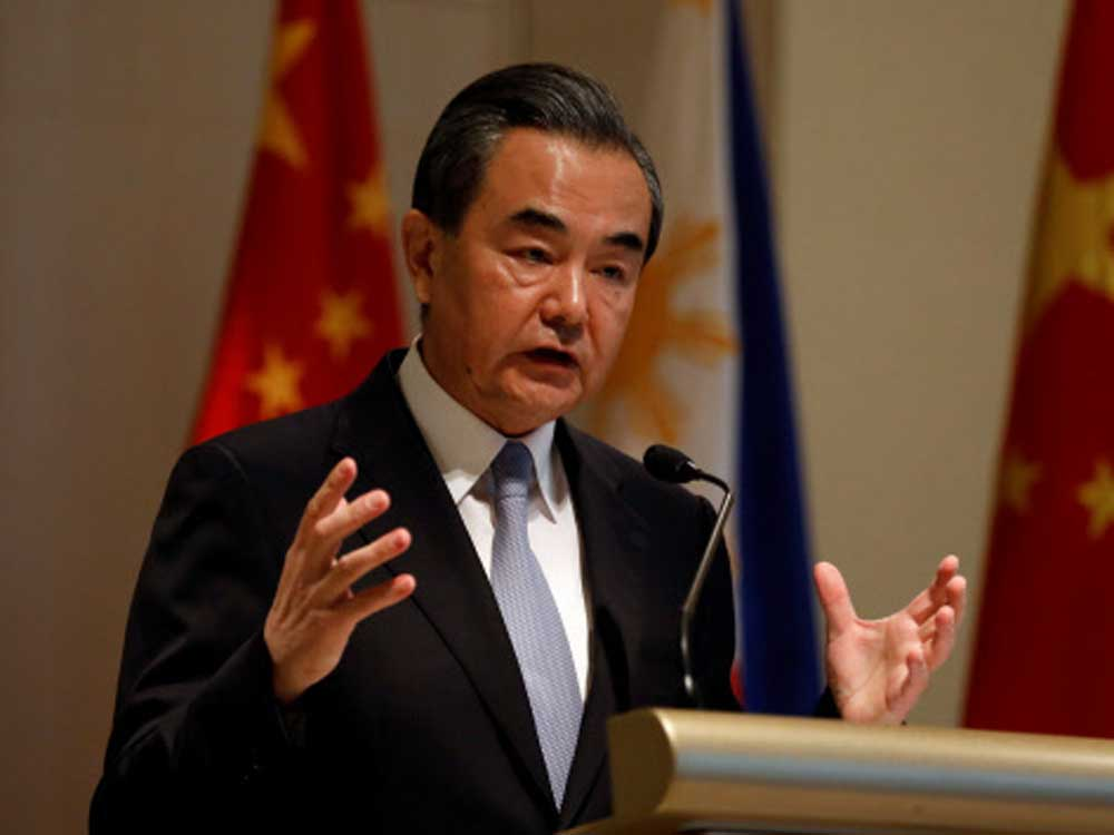 Chinese Foreign Minister, Wang Yi, mooted the proposal for a China-Nepal-India economic corridor after a meeting with his Nepalese counterpart Pradeep Gyawali in Beijing last Wednesday. Reuters Photo