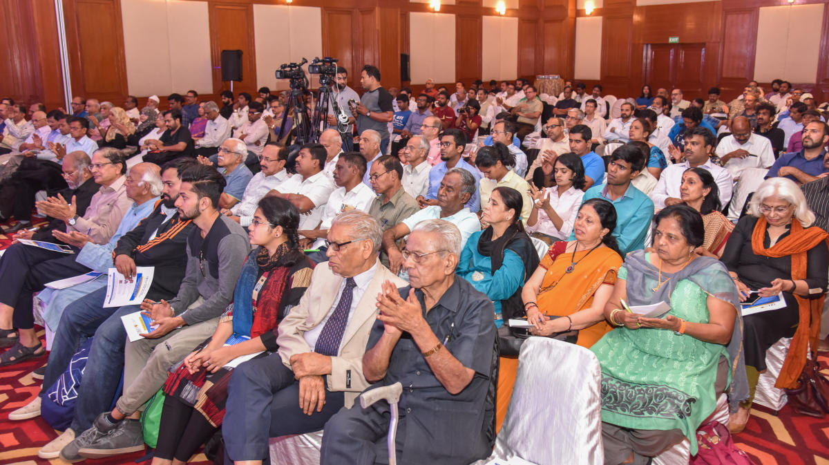 A section of the audience at Deccan Herald Spotlight discussion on Citizens' Right to Information: Issues and Perspectives, in Bengaluru on Saturday.