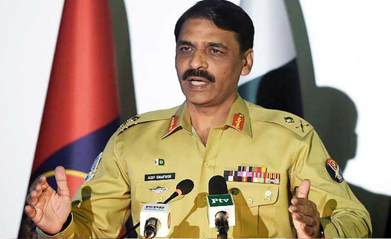 Pakistan Army spokesperson Asif Ghafoor. Image source: Twitter/pid_gov
