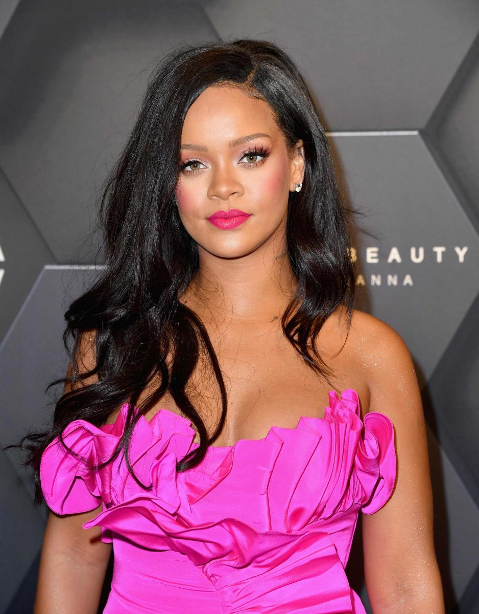 Rihanna attends the Fenty Beauty by Rihanna event at Sephora in Brooklyn, New York on September 14, 2018. AFP