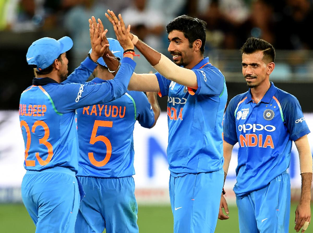 MAKING A DIFFERENCE: Indian skipper Rohit Sharma said Jasprit Bumrah has matured as a bowler. AFP